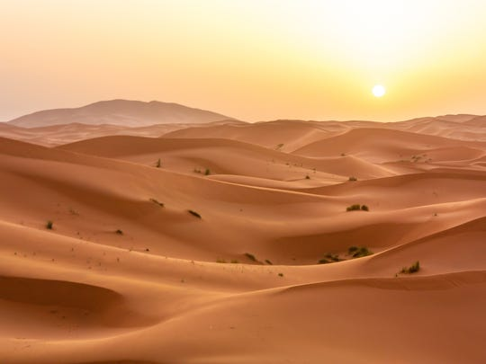 These brutally hot climate conditions are currently experienced by just 0.8% of the global land surface, mostly in the hottest parts of the Sahara Desert, but by 2070 the conditions could spread to 19% of the Earth's land area.