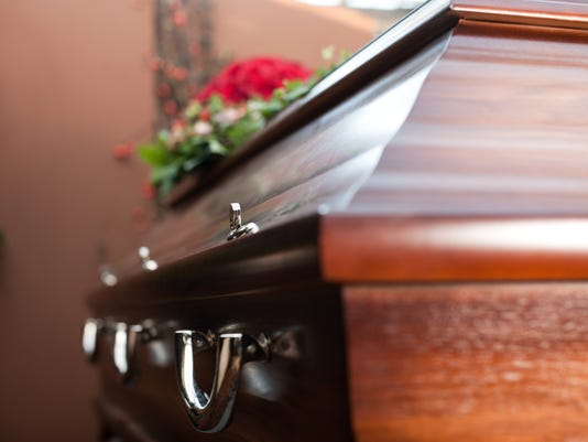 #stock Coffin Stock Photo