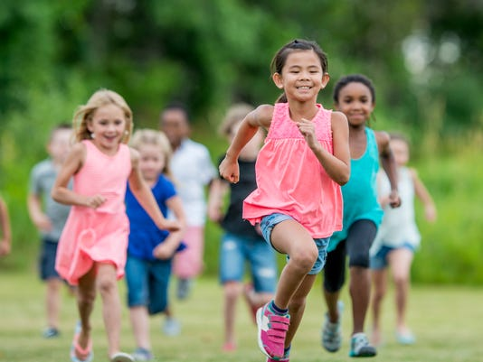 Running Outside During Recess