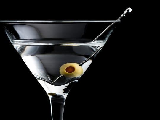 Vodka martinis were James Bond's drink of choice -