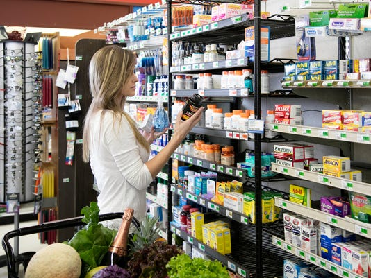UVM Medical Center - Woman shopping for health and beauty supplies