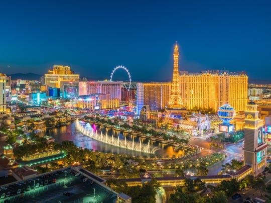No. 4: Las Vegas.