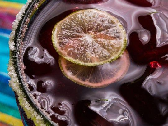 Hibiscus Margarita by SweetLifeBake.com