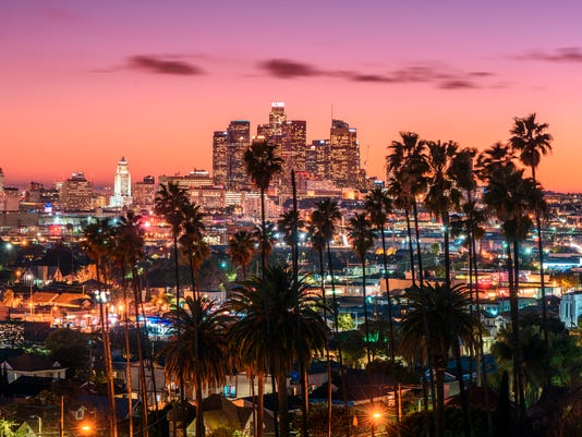 Sunset of Los Angeles