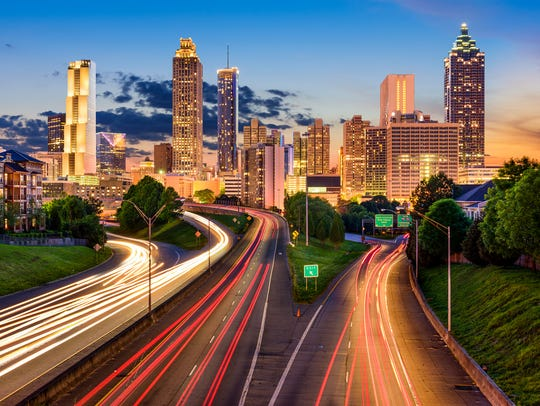 Atlanta, just a few hours south of Knoxville, was ranked the No. 5 best summer travel destination in a new report.