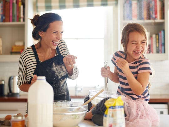 Eating out adds up, while cooking at home saves money. Plus, the whole family can pitch in and help.