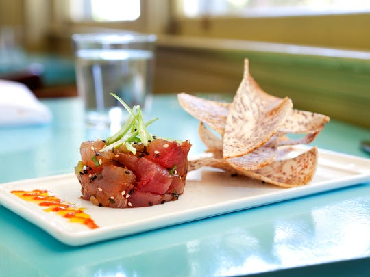 Don't order foods restaurants don't typically prepare, liike ahi tartare in a burger joint.