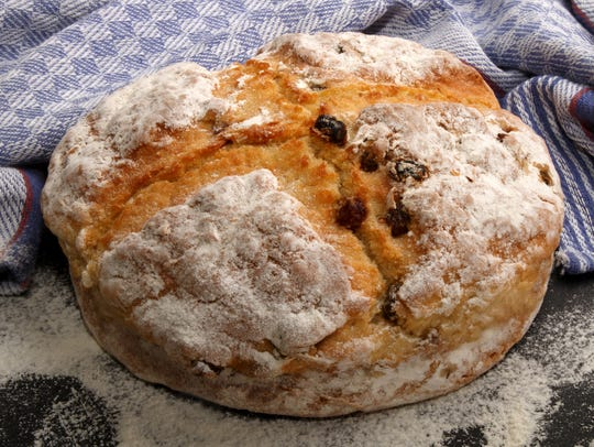 Soda bread is a quick bread that was traditionally