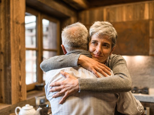 UVM Medical Center - Senior Couple Embracing