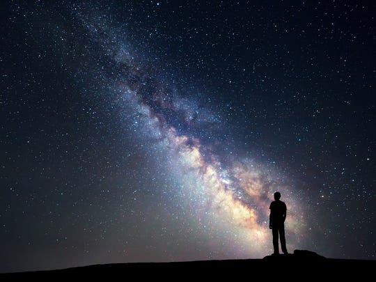 Getty Images/iStockphoto Take children out late to see the magic of the night sky.