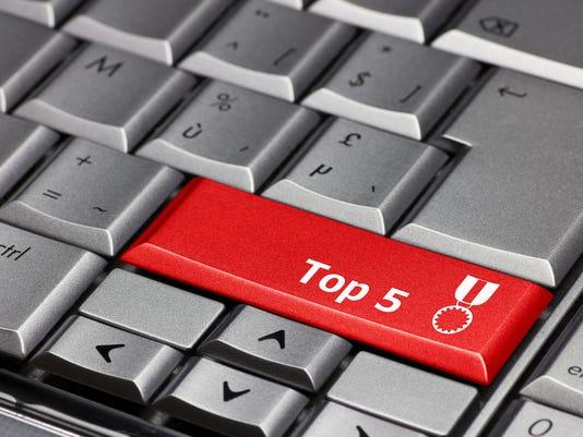 Computer key - Top 5