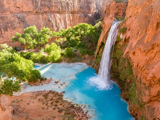 Havasu Falls Turquoise Canyon Oasis