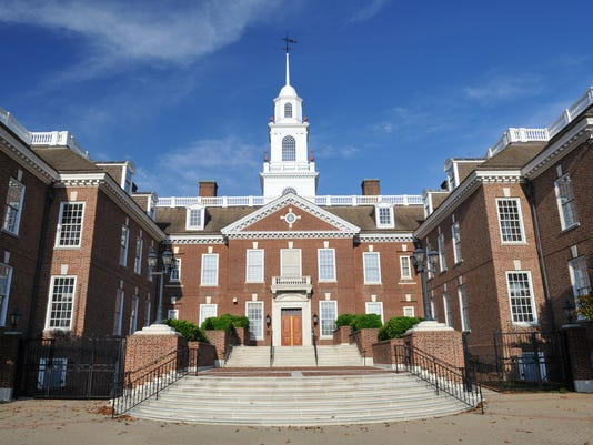The Legislative Hall of Delaware