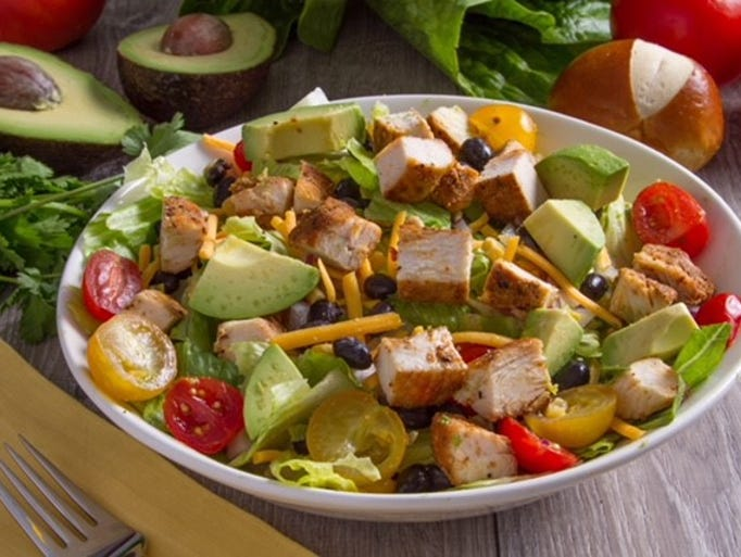 Fiesta chicken salad from the Salad House.