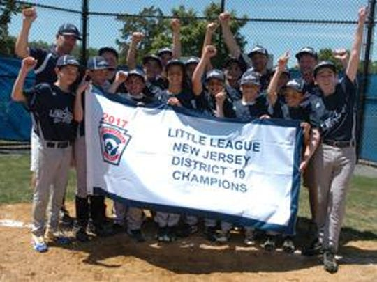 Lincroft held off Middletown for a 5-2 victory as Middletown faced Lincroft in the District 19 Little League Final at Michael J. Tighe Park in Freehold on Saturday.