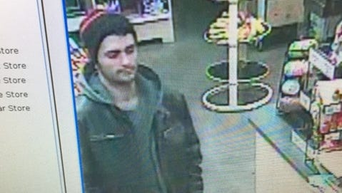 Police say this suspect stole an iPad at a Moorestown church.