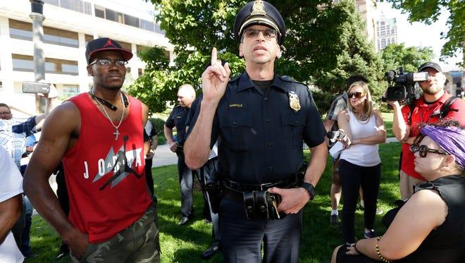 Milwaukee Assistant Police Chief James Harple