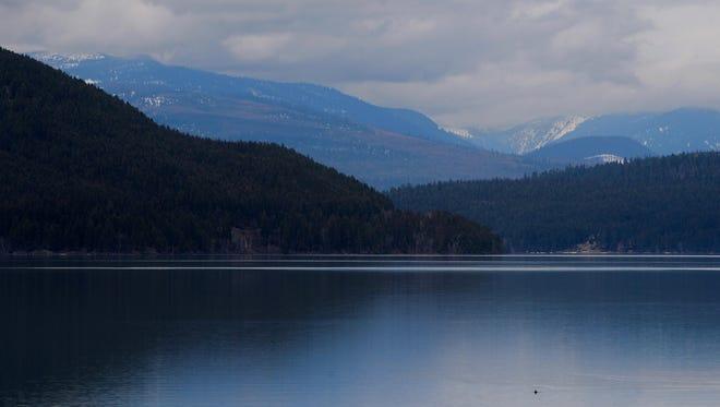 Whitefish Lake lies at the foot of Big Mountain in Whitefish, Mont.