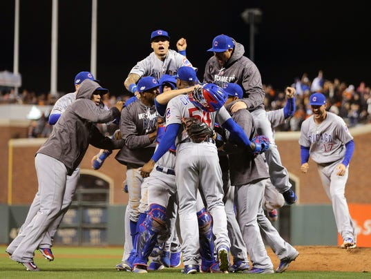USP MLB: NLDS-CHICAGO CUBS AT SAN FRANCISCO GIANTS S [BBA OR BBN] USA CA