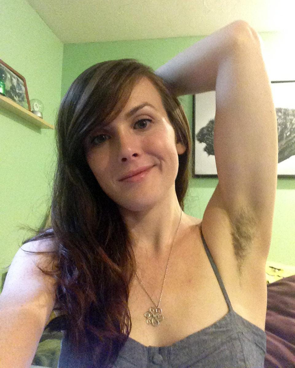 Girls hairy armpit images