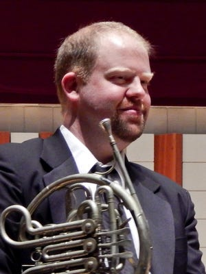 "Ben Garrett,South Salem High School graduate and band director at Dayton High School, will be the featured horn soloist in Salem Concert Band's ""Angels and Demons (& Gods — Oh My!)"" at 3 p.m. Jan. 24 at Hudson Hall, Willamette University."