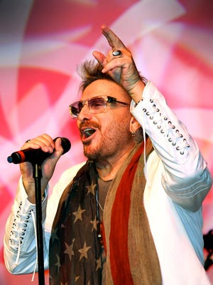 Chuck Negron, formerly of Three Dog Night, performs with his band at a recent concert.