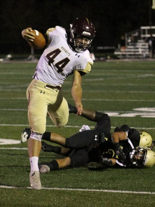 New Albany 24, Licking Heights 23