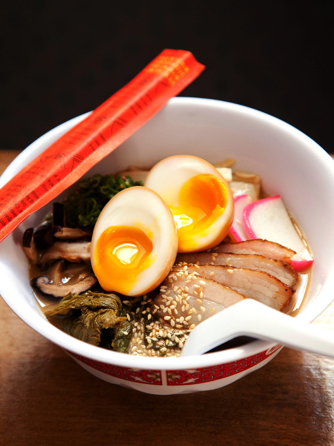 Red Light Ramen is known for its tonkotsu ramen, a