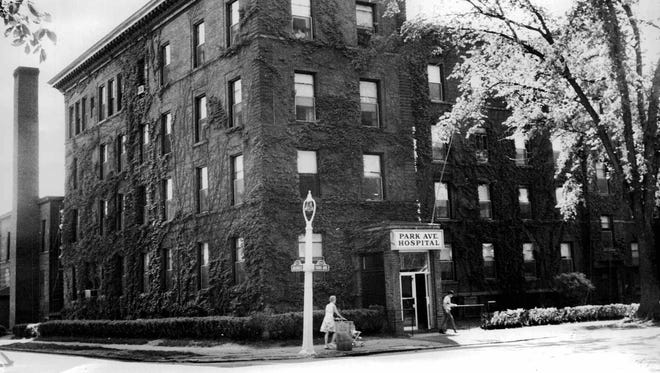 Park Avenue Hospital is seen in this 1965 file photo.