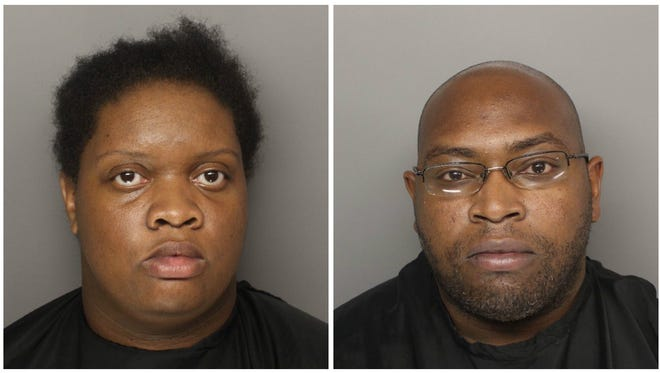Kendra Nicole Mobley, left, and Jamario A. Green were charged with abuse or neglect resulting in the death of a vulnerable adult, according to warrants.