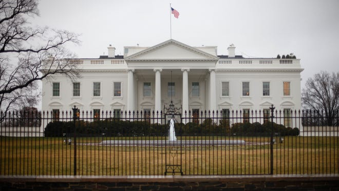 The White House last March