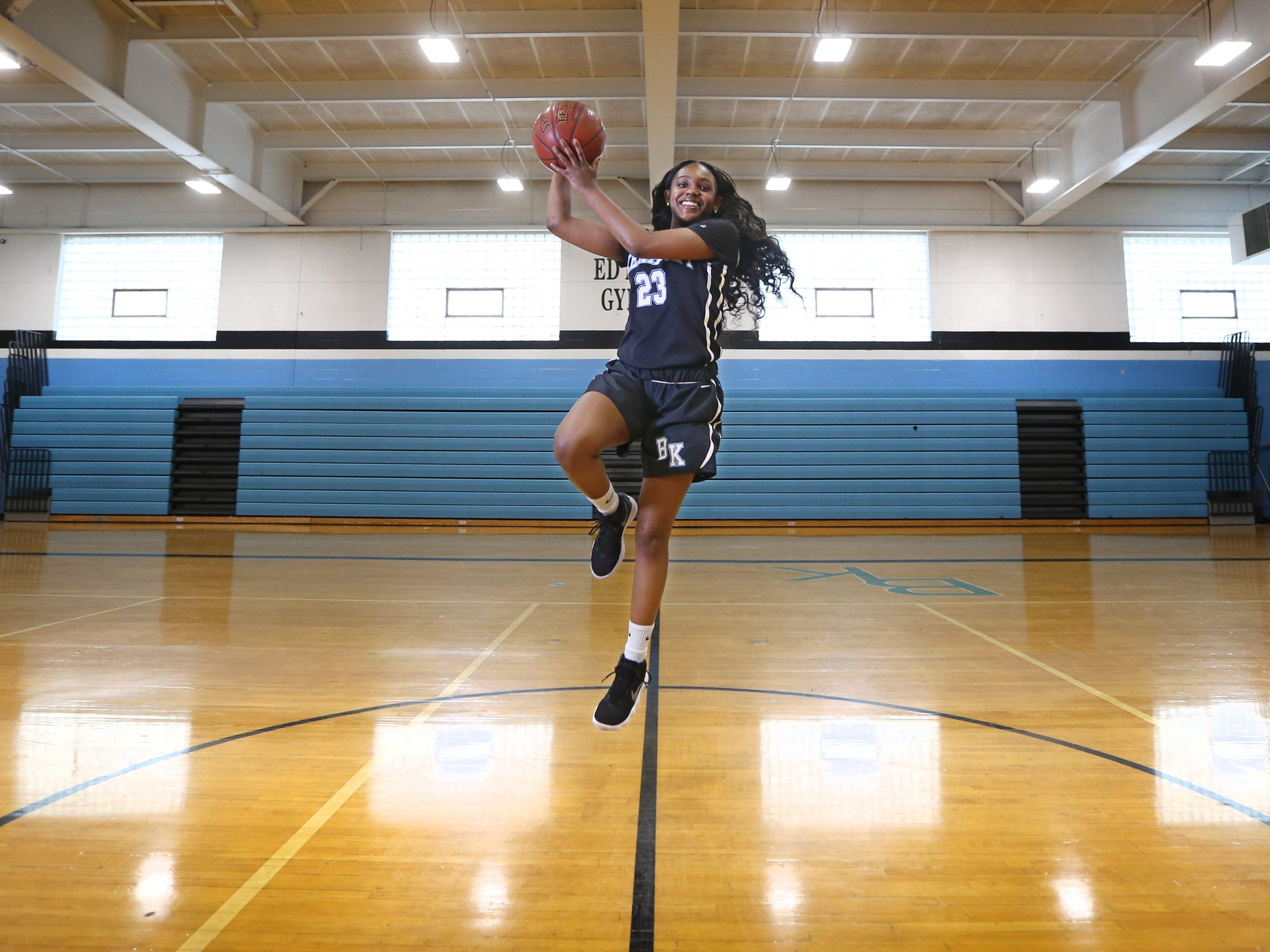 Allure Simmons of Bishop Kearney is the AGR Girls Basketball Player of the Year.