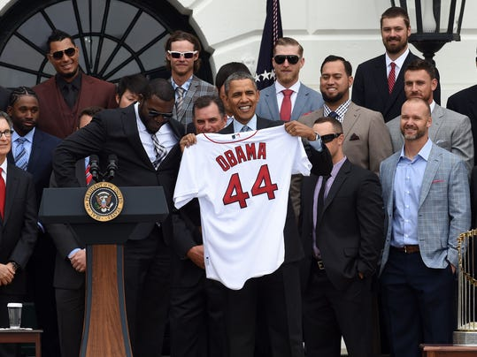 Obama and Red Sox