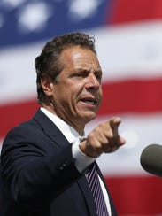 Gov. Andrew Cuomo pushed for higher fines for toll
