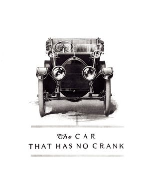 "Cars have been around long enough to have plenty of features be replaced by improved tech. Even by 1912 Cadillac had made the hand-crank obsolete when it debuted the self-starter. Pictured is a 1912 Cadillac ""No Crank"" ad."