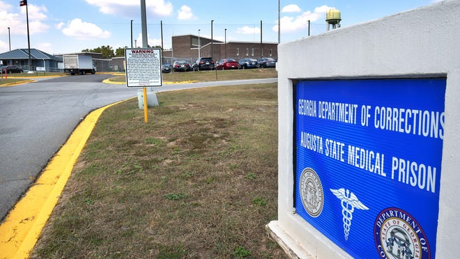 Augusta State Medical Prison has the second most cases among all the prisons in the state.
