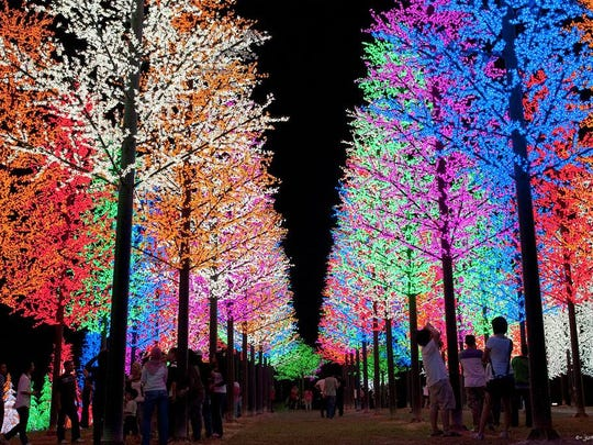 The Hugs for Brady Holiday Light Show kicks off on Black Friday, Nov. 25, and runs daily through Dec. 30 at the Devry Campus in North Brunswick.