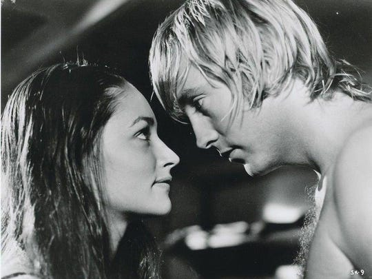 "Chris Mitchum romanced Olivia Hussey in 1972's ""Summertime"