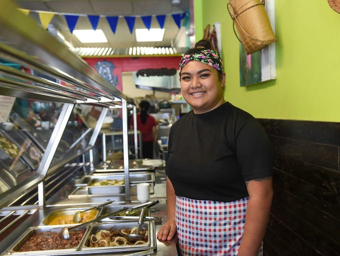 Pinoy Food Trip owner Anne Elenzano at her restaurant