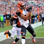 Marvin Jones played in 11 games (five starts) as a rookie in 2012, making 18 receptions for 201 yards and one touchdown.