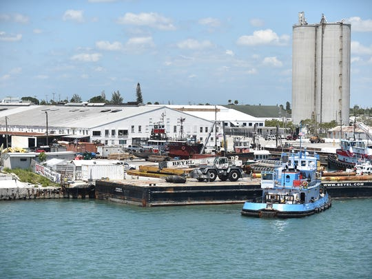 The Port of Fort Pierce, as seen on Tuesday, May 8,