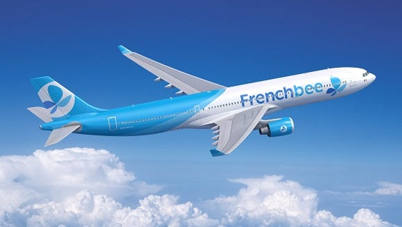 This file photo provided by French Bee shows an Airbus