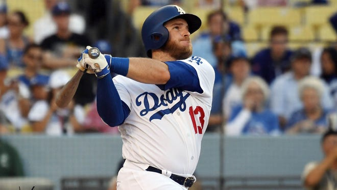 Dodgers infielder Max Muncy is tied for fourth in the National League with 20 home runs. And he's hit them in only 200 at-bats.