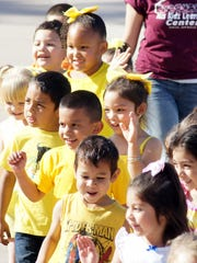 Each of the six HELP-NM inc. Head Start centers in Luna County were represented by bright colors.