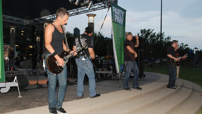 Party in the Park on May 28 featured music from Final Order.