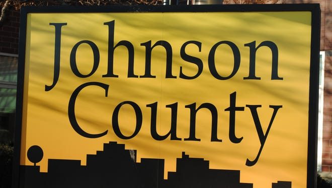 Johnson County sign.