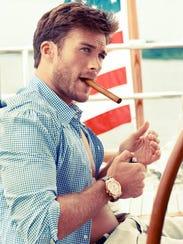 Scott Eastwood cigar