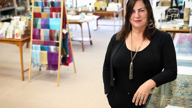 Elaine McKenna-Yeaw, executive director of Worcester Center for Crafts
