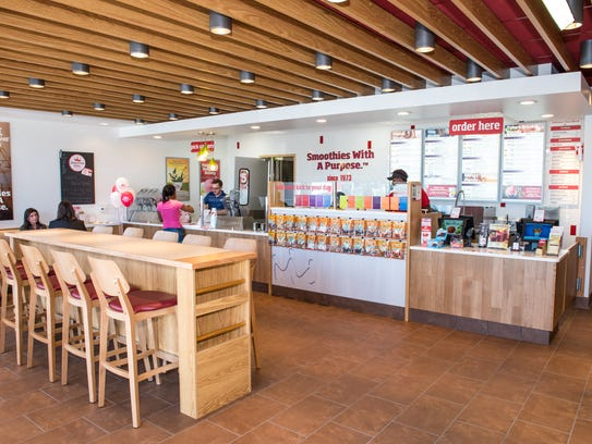 Smoothie King will employ from 18 to 20 workers at