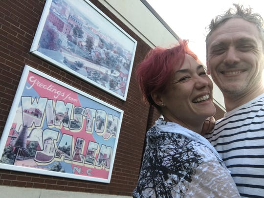 Chris Gash and Jennifer Sudol, both members of Clifton High School's Class of 1993, decided to get married on Saturday where they first met 25 years ago at their high school locker.